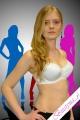 Dalia Satine K08 usztywniany biały