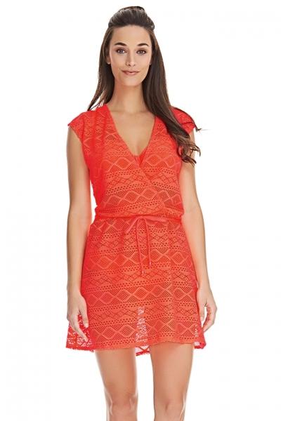 Freya Sundance sukienka plażowa pomarańcz