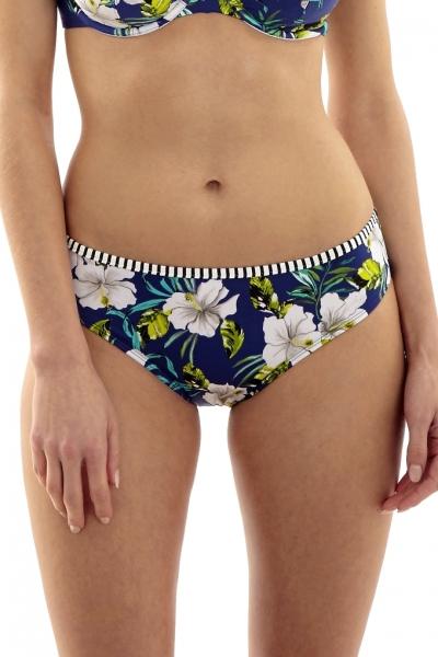Panache Elle strój kąpielowy figi klasyczne cobalt floral