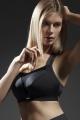 Kris-Line Active biustonosz sportowy czarny