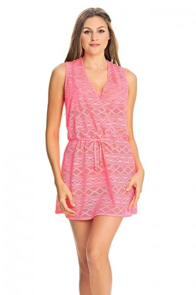 Freya Sundance sukienka plażowa flamingo