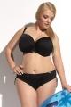Kris-Line Beach strój kąpielowy biustonosz soft czarny
