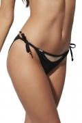 Kris-Line Beach czarny figi mini do stroju kąpielowego