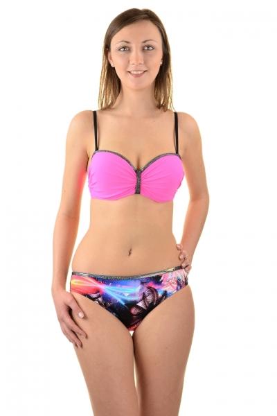 Gabbiano Ashley 06-5B fluoróż palmy strój kąpielowy komplet
