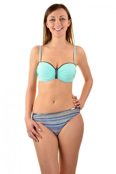 Gabbiano Ashley 06-3B mięta paski strój kąpielowy komplet