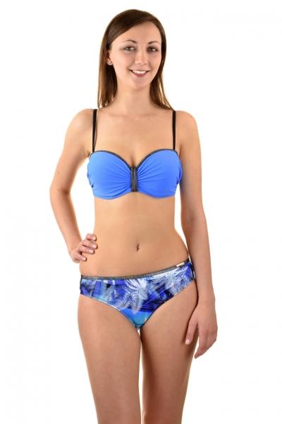 Gabbiano Ashley 06-5C niebieski palmy strój kąpielowy komplet