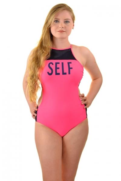 Self 8 45 V2 różowy strój kąpielowy basenowy