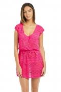 Freya Sundance hot pink sukienka plażowa