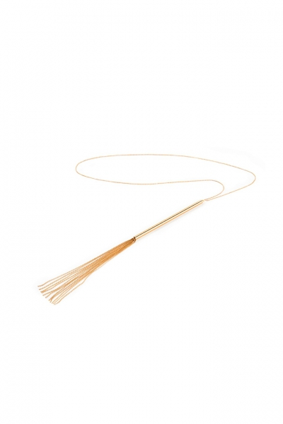 0181 Magnifique necklace whip gold