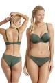 Panache Marina khaki figi brazylijskie do stroju kąpielowego