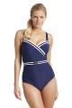 Panache Portofino navy/ ivory strój kąpielowy jednoczęściowy