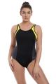 Freya Active Freestyle black zest strój kąpielowy sportowy jednoczęściowy