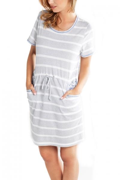 Cybele Naturana koszula nocna-sukienka pasy 7-800100 340