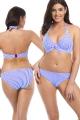 Freya Totally Stripe kobalt banded halter biustonosz do stroju kąpielowego