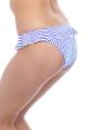 Freya Totally Stripe kobalt figi italini z falbanką do stroju kąpielowego