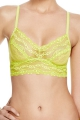 b.tempt'd by Wacoal top Lace Kiss limonka