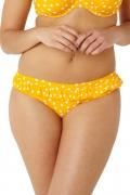 Cleo by Panache Betty żółty figi kąpielowe z falbanką