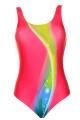 Moraj young tęcza-róż strój basenowy dziewczęcy