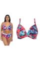 Elomi Paradise Palm ink biustonosz soft plunge do stroju kąpielowego