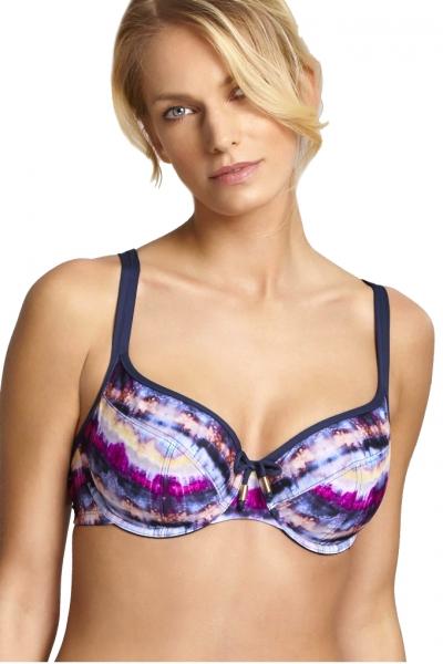 Panache Elle pink/multi biustonosz soft do stroju kąpielowego