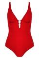 Naturana 73176 600 strój jednoczęściowy czerwony z koralikami