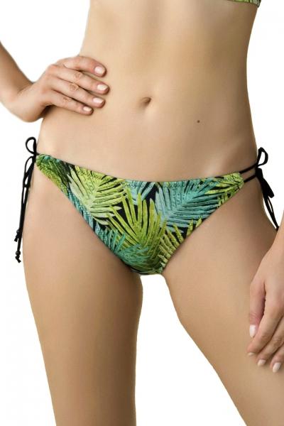 Dalia Kim czarno-zielony figi mini do stroju kąpielowego