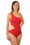 Feba czerwony F103/639 1cz. strój kąpielowy