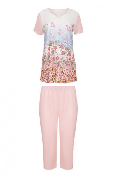 Cybele Naturana 7-810358 909 piżama biała-róż