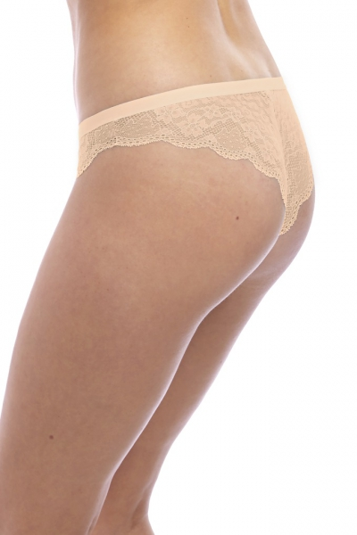 Freya Fancies natural beige figi tanga brazylianki