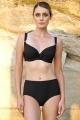Dalia Alex K24 czarny biustonosz usztywniany do stroju kąpielowego