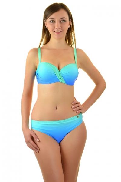 Self 730FN19 niebieski-ombre strój kąpielowy dwuczęściowy komplet