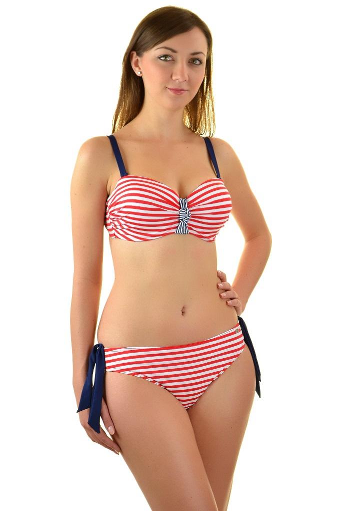 ffd793952cb9d2 Self 730M8 V220 marynarski czerwony strój kąpielowy dwuczęściowy komplet.  Loading zoom