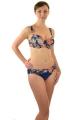 Self 994AC19 V17 kwiaty strój kąpielowy dwuczęściowy komplet