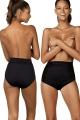 Feba strój kąpielowy figi wysokie wywijane 01KW czarne