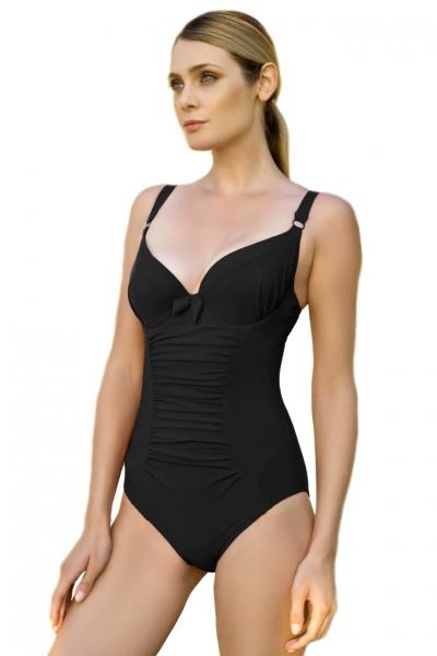 Dalia Alex K24 czarny jednoczęściowy strój kąpielowy