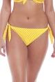 Freya Beach Hut żółte figi wiązane RIO do stroju kąpielowego