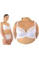 Dalia Emilia biała K24 biustonosz semi- soft