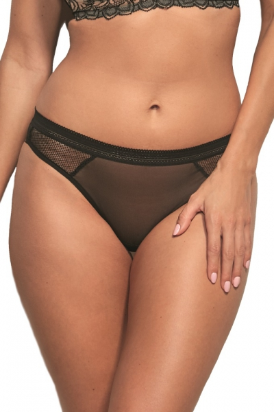Kris-Line Tatoo black stringo-szorty