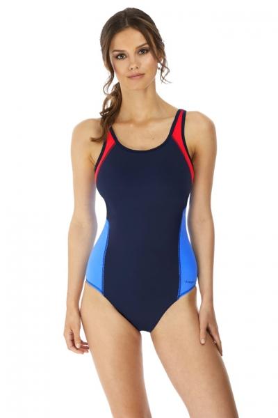 Freya Active Freestyle astral navy strój kąpielowy sportowy jednoczęściowy