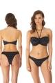 Freya Jewel Cove black figi brazylian do stroju kąpielowego