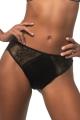 KrisLine Veronica czarna stringo-szorty