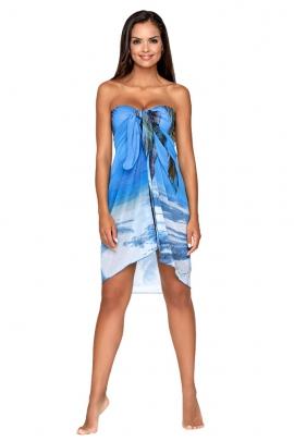 Lorin pareo niebieski-palmy L7211/8 V1
