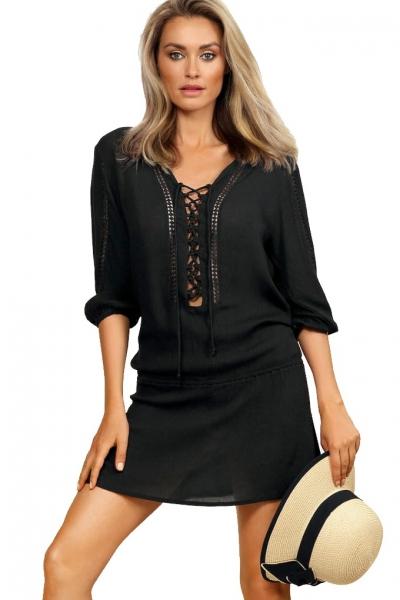 Feba F150/509 sukienka plażowa czerń