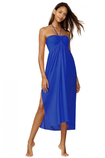 Feba F43/604 suknia plażowa kobalt