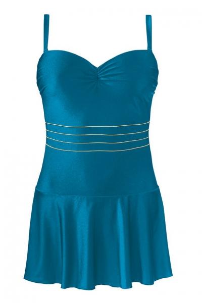 Self 8900X 8 morski strój kąpielowy jednoczęściowy z sukienką