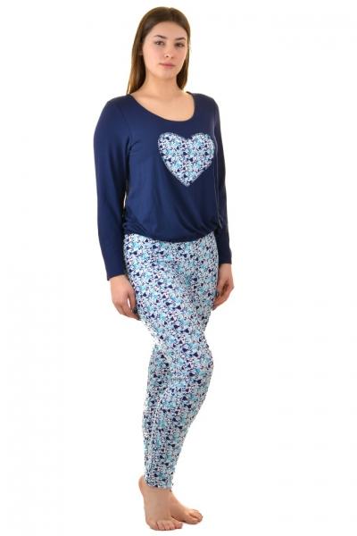 Kris-Line Fortuna night blue piżama