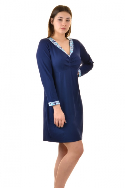Kris-Line Fortuna night blue koszula nocna