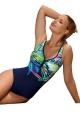 Aquarilla Locarno 272 navy-blue strój kąpielowy jednoczęściowy
