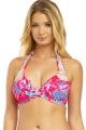 30F/ 65G Freya Wild Sun crochet soft na szyję biustonosz do stroju kąpielowego