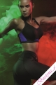 Freya Active uw crop top czarny/fiolet biustonosz sportowy